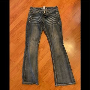 Maurices boot cut jeans size 9/10R